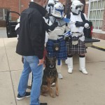 Dogs love the dark side.