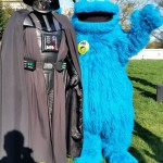 He came to the dark side for the cookies. All the cookies.